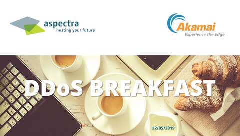 DDoS-Breakfast by aspectra & Akamai | © aspectra