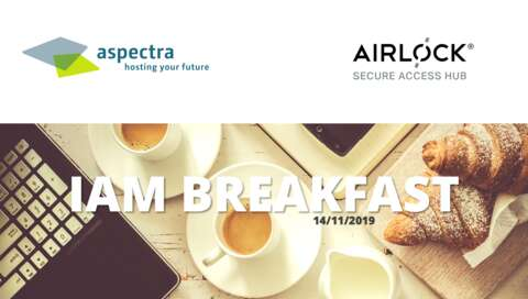 IAM-Brakfast by aspectra & Ergon/Airlock Secure Access Hub | © aspectra AG