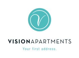 Vision Apartments Logo | © Vision Apartments